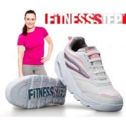 Zapatillas Deportivas Fitness Step Classic Mujer